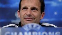 Max Allegri: 'Ai bảo Juve không có gì để mất?'