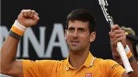 Djokovic thẳng tiến vào CK Rome Masters