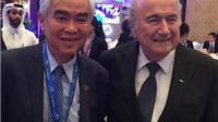 Blatter & FIFA từng ưu ái bóng đá Việt Nam
