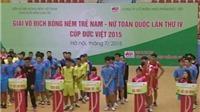 16 đội dự giải bóng ném nam, nữ trẻ toàn quốc 2015