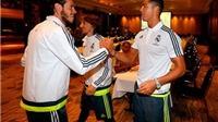 Cristiano Ronaldo hội quân cùng Real Madrid, bắt đầu tour du đấu mùa Hè