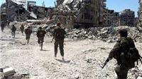 Quân đội Syria thít thòng lọng quanh cứ điểm duy nhất của phe nổi dậy ở gần Liban