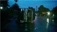Xe khách giường nằm tông nhau liên hoàn làm 1 người chết, 7 người bị thương