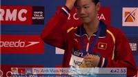 Ánh Viên giành HCĐ 400m hỗn hợp cá nhân nữ