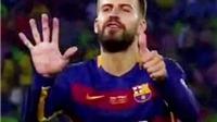Pique từng chửi trọng tài, Madrid và cả... cảnh sát