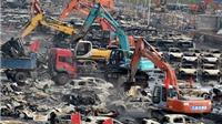 Hàng loạt đám cháy bùng phát tại hiện trường vụ nổ ở Thiên Tân