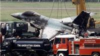 Hai máy bay đâm nhau ở triển lãm hàng không, phi công thiệt mạng