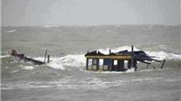 7 ngư dân chìm tàu trên biển Bình Thuận vẫn biệt tích