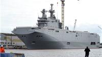 Pháp đang đàm phán bán lại hai tàu sân bay Mistral cho Ai Cập