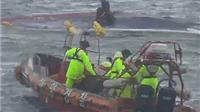 Lật tàu tại Hàn Quốc, ít nhất 8 người thiệt mạng, nhiều người còn mất tích