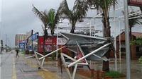 Dân Đà Nẵng cuống cuồng chống bão