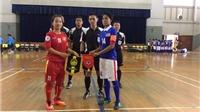 Giao hữu futsal: Việt Nam thắng đậm Malaysia