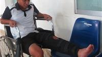Chấn thương phức tạp, Anh Khoa phải đi Singapore điều trị