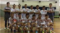 Futsal nữ Việt Nam lại thắng Malaysia