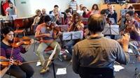 Dàn nhạc giao hưởng kỳ lạ của người tị nạn Syria