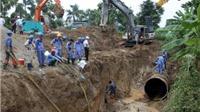 Hà Nội: Đường ống nước sông Đà vỡ lần thứ 14, 7 vạn hộ dân bị cắt nước sạch