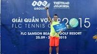 Hoàng Thành Trung vô địch Giải quần vợt FLC - FLC Tennis Cup 2015