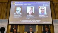 Giải Nobel Hóa học 2015 vinh danh các nhà khoa học khám phá cơ chế tế bào sửa chữa ADN hư hại
