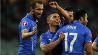 Azerbaijan 1-3 Italy: El Shaarawy, Darmian lập công, Italy chính thức giành vé dự EURO 2016
