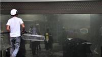 Hà Nội: Cháy tầng hầm tòa nhà CT4B Khu đô thị Xa La, quận Hà Đông