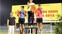Bị tước HCV, Hà Nội vẫn dẫn đầu bảng tổng sắp huy chương giải điền kinh VĐQG 2015