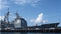 Mỹ thông báo điều tàu hải quân tới quanh các đảo nhân tạo Trung Quốc xây ở Biển Đông