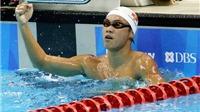 Lâm Quang Nhật phá kỷ lục bơi Quốc gia