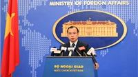 Yêu cầu Trung Quốc chấm dứt xây hải đăng trên quần đảo Hoàng Sa của Việt Nam