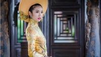 Thúy Vân công bố trang phục dân tộc tại Hoa hậu Quốc tế 2015