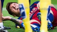 Nghỉ 'Kinh điển' chứng tỏ Messi đã dính chấn thương nghiêm trọng bậc nhất sự nghiệp