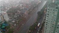 Khu vực Hà Nội nhiều mây, có mưa