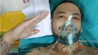 Cư dân mạng 'sốt' với kiểu chào của Trần Lập sau ca phẫu thuật ung thư