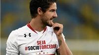 Liverpool giành pole trước Man United trong thương vụ Pato