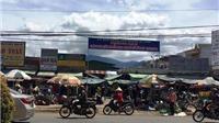 Huyện Di Linh sau cấm cán bộ đi chợ là không bảo vệ hàng hóa của tiểu thương
