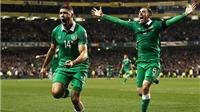 CH Ireland 2-0 Bosnia-Herzegovina: Walters khiến Bosnia của Dzeko, Pjanic phải ngồi nhà xem EURO 2016