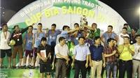 Giải bóng đá Cúp Bia Sài Gòn 2015: 'Cơn sốt' ở Hà Tĩnh