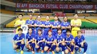 2 thái cực ở Giải futsal các CLB vô địch Đông Nam Á 2015