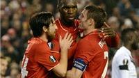 Liverpool 2-1 Bordeaux: Benteke tỏa sáng giúp Liverpool giành vé sớm