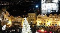 Cây thông Noel thách thức lời đe dọa 'hủy diệt CH Séc'