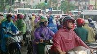 Thời tiết hôm nay: Khu vực Hà Nội có mưa