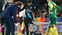 Thảm họa cho Arsenal: Cazorla nghỉ ít nhất 3 THÁNG vì chấn thương đầu gối