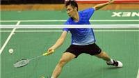 Tiến Minh vào tứ kết, Vũ Thị Trang dừng bước tại vòng 2 giải cầu lông Mỹ mở rộng 2015