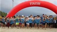 8000 người tham dự cuộc thi 'Đôi chân trần trên biển Đà Nẵng'