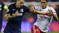 VIDEO: Benfica thất bại 1-2 trước Atletico Madrid