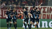 VIDEO Olympiakos 0-3 Arsenal: Thoát hiểm kinh điển nhờ hat-trick của Giroud
