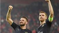 Olympiakos 0-3 Arsenal: 'Pháo thủ' bất khuất, thoát hiểm vĩ đại và Giroud tuyệt đỉnh
