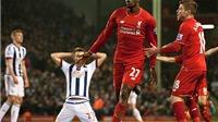Liverpool 2-2 West Brom: Origi giữ lại 1 điểm cho Liverpool
