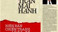 Nhà văn Trần Mai Hạnh nhận Giải thưởng Văn học ASEAN với Biên bản chiến tranh 1-2-3-4.75