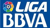 Lịch thi đấu, bảng xếp hạng vòng 16 La Liga