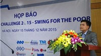300 golf thủ dự giải 'AMD Golf Challenge 2015 – Swing for the poor'